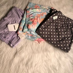 Miss Elaine and Charter Club pajama pants lot NWT
